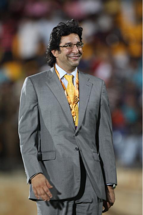 Wasim Akram at the 2009 Women's World Cup: