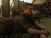 Lucas Till Goes to War in 'X-Men: Days of Future Past' (Photo)
