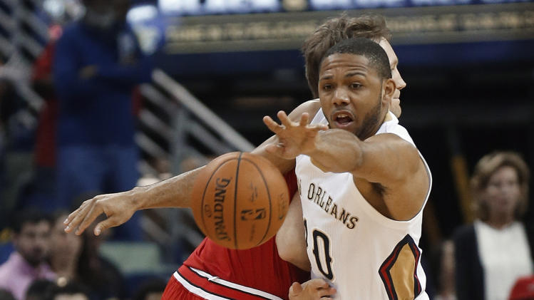 Davis stays hot, lifts Pelicans over Bulls 88-79