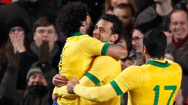 World Cup - Brazil call up Fred and Jo for South Africa game