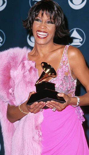 Houston at the 2000 Grammys. (Starstock/Photoshot/Everett Collection)