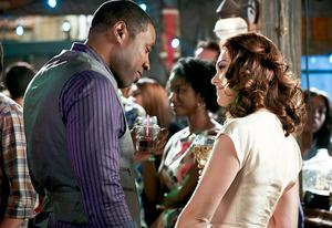 Cress Williams and Kaitlyn Black | Photo Credits: Mike Yarish/The CW
