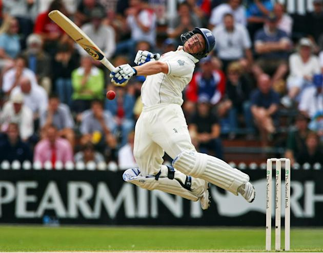 Second Test - New Zealand v England: Day 1