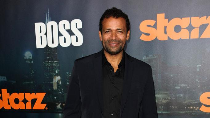 "Mario Van Peebles arrives at the premiere of Starz's ""Boss"" at ArcLight Cinemas on October 6, 2011 in Hollywood, California."