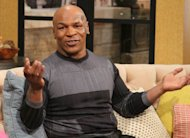 Mike Tyson visits Access Hollywood Live on February 27, 2013 -- Access Hollywood