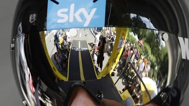 Team Sky helmet