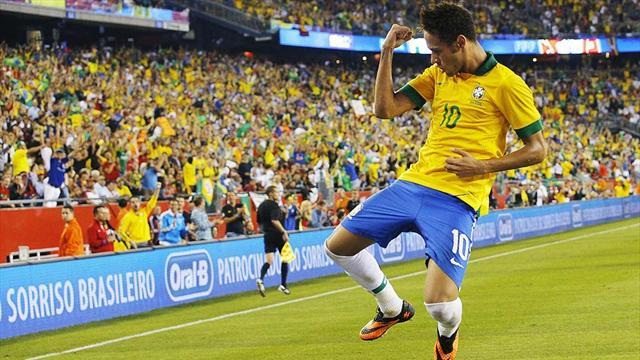 World Cup - Neymar can handle pressure, says Pele