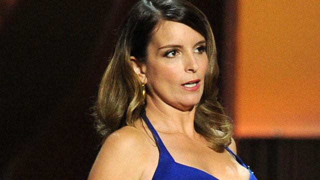 Tina Fey Flashes Pic Of Emmy Nip Slip