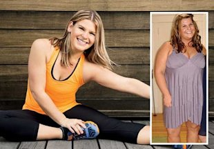 Jen Tallman, 25, went from 265 lbs to 155 lbs. Here's how she did it