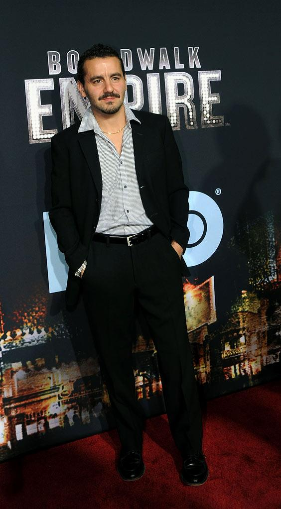 "Max Casella attends the premiere of ""Boardwalk Empire"" at the Ziegfeld Theatre on September 15, 2010, in New York City."