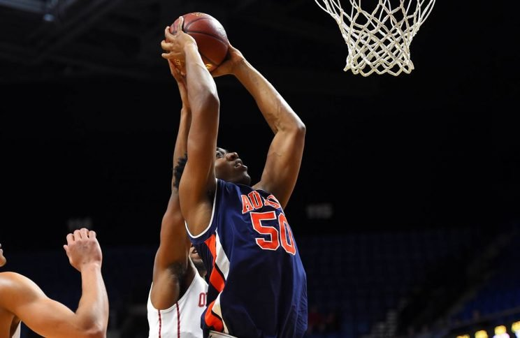 Austin Wiley was originally supposed to arrive at Auburn next summer. Instead, he'll play his third game for the Tigers Friday night. (Auburn Athletics)
