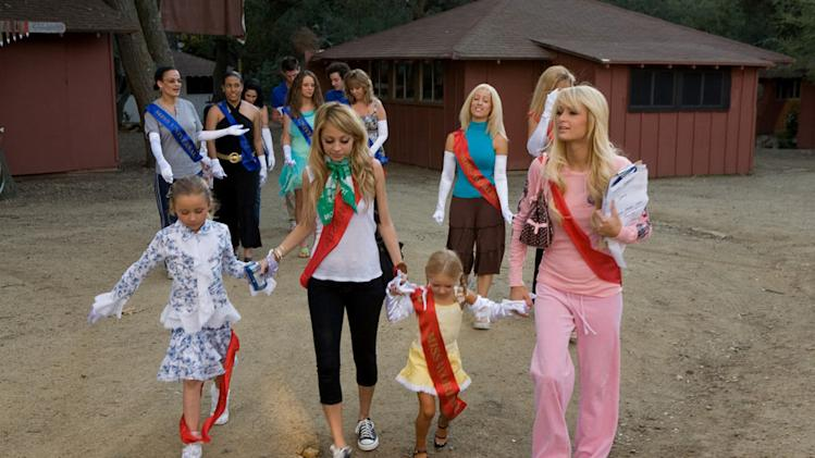 Paris Hilton and Nicole Richie star in The Simple Life: Goes to Camp.