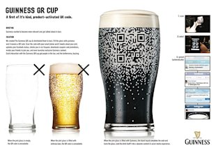 The Art of QR Codes image creative qr codes guiness beer1