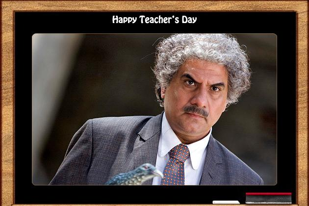 Bollywood actors who immortalised teachers on screen