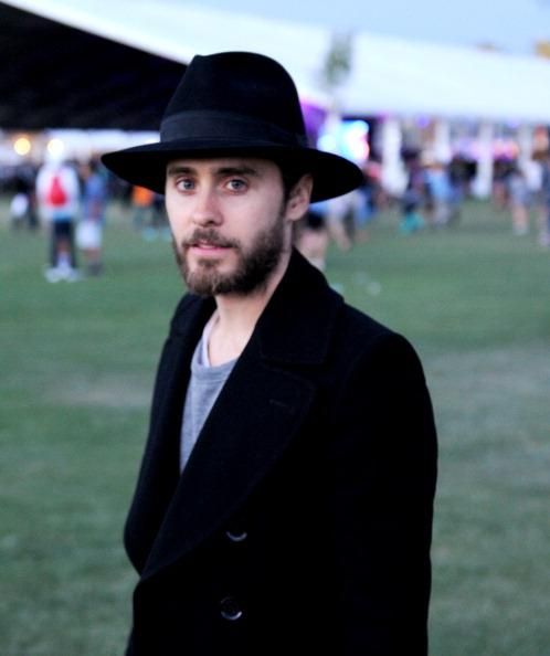 INDIO, CA - APRIL 13: Actor/Musician Jared Leto poses during the 2012 Coachella Music Festival at The Empire Polo Club on April 13, 2012 in Indio, California. (Photo by C Flanigan/FilmMagic)