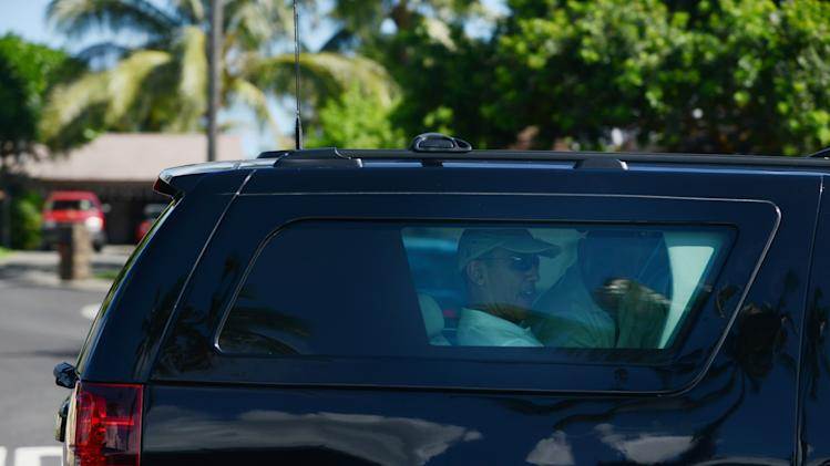 President Obama Begins Holiday Vacation In Hawaii