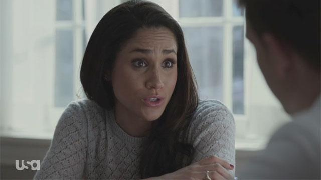 'Suits' Exclusive: Mike and Rachel Have a Problem Only Louis Can Solve