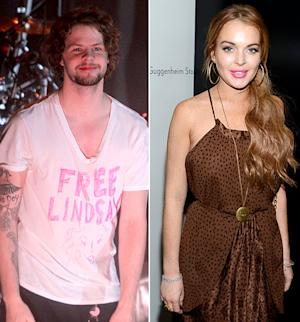 "PICTURE: The Wanted's Jay McGuiness Wears ""Free Lindsay"" T-Shirt After Lohan's Assault Arrest"