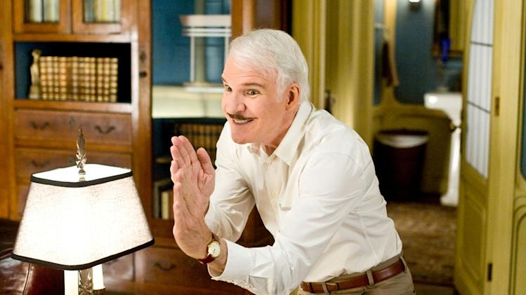 Steve Martin The Pink Panther 2 Production Stills Sony 2009