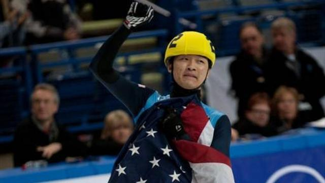 Speedskater tampered with rival's skates, coaches suspended