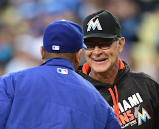 Don Mattingly made his return to Los Angeles on Monday night.  (Getty Images)