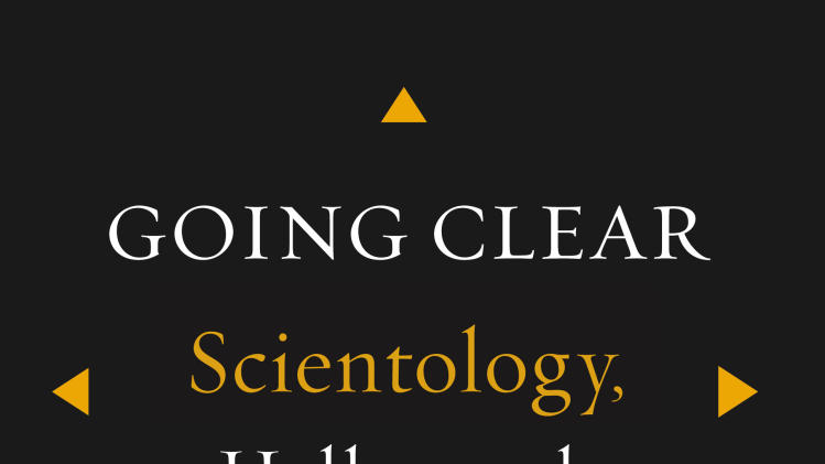 "This book cover image released by Alfred A. Knopf shows ""Going Clear: Scientology, Hollywood & the Prison of Belief,"" by Lawrence Wright. (AP Photo/Alfred A. Knopf)"