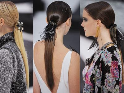 1. SLEEK LOW PONYTAIL