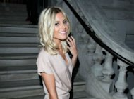 PHOTOS: Mollie King Avoids Ex David Gandy At Jimmy Choo Bash