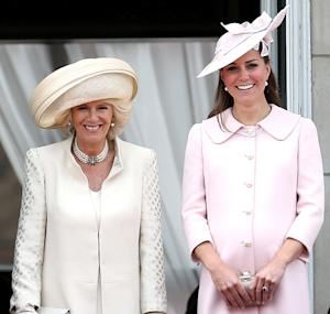 "Duchess Camilla Hopes Kate Middleton's Baby Will Be Born By ""End of the Week"""
