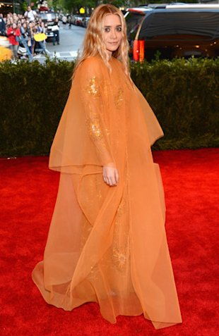 The Olsen twins Met Ball 2013