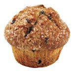 Dunkin' Donuts Reduced Fat Blueberry muffin