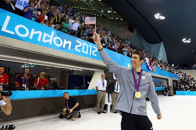 El récord de Michael Phelps