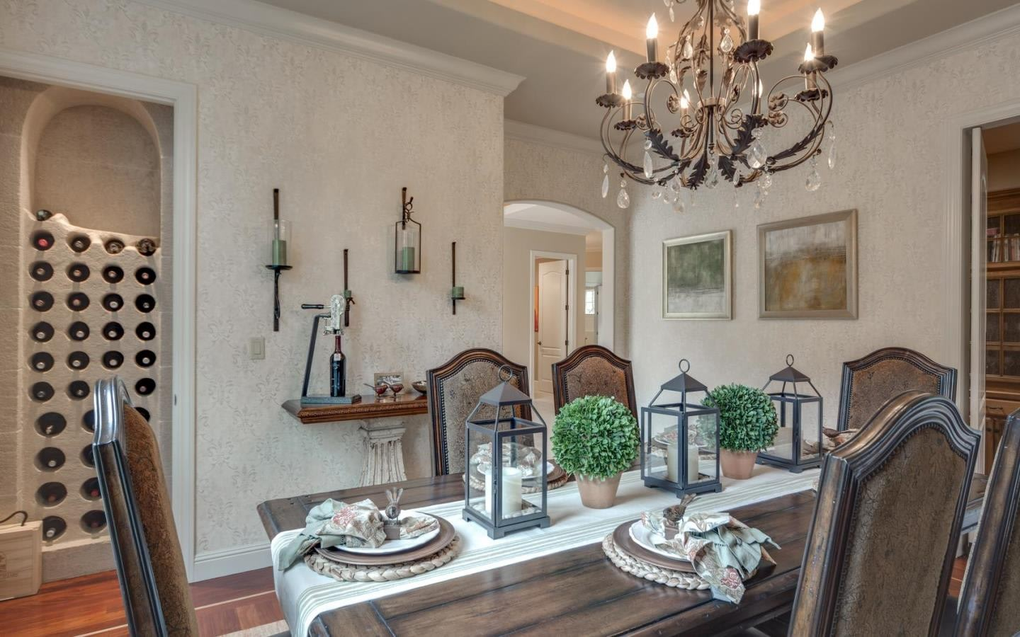 Former san jose sharks defenseman brad stuart selling los for Casual formal dining room