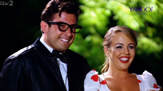 James 'Arg' Argent was reportedly missing Lydia Bright. Copyright: [ITV]