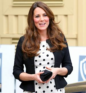 "Kate Middleton Is ""Nervous"" to Give Birth, But ""Feeling Great"""