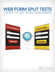 10 Case Studies To Help You Get More Clicks image web form split test cover