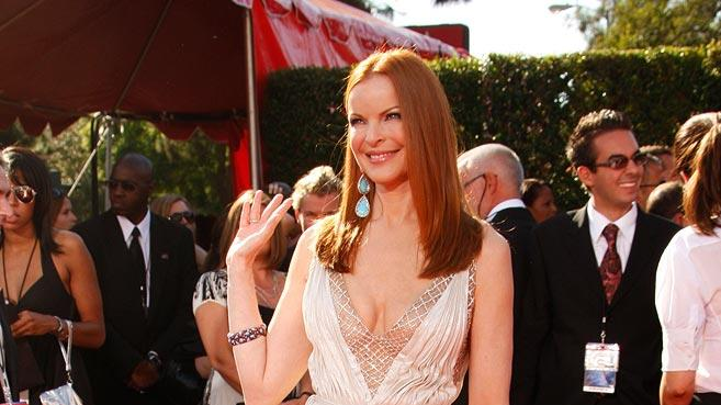Marcia Cross arrives at the 59th Annual Primetime Emmy Awards at the Shrine Auditorium on September 16, 2007 in Los Angeles, California.