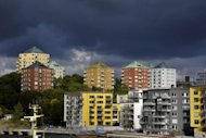 The Danviksklippan district of Stockholm, Sweden is pictured in September 2012. More than twice as many young men in Sweden sell sex as do women, a study published Monday by the Swedish National Board for Youth Affairs said
