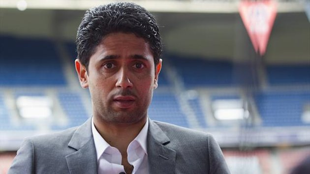Nasser Al-Khelaifi, Paris St Germain's owner (Reuters)