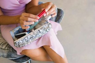 Clear out old makeup from your handbag to look after your health