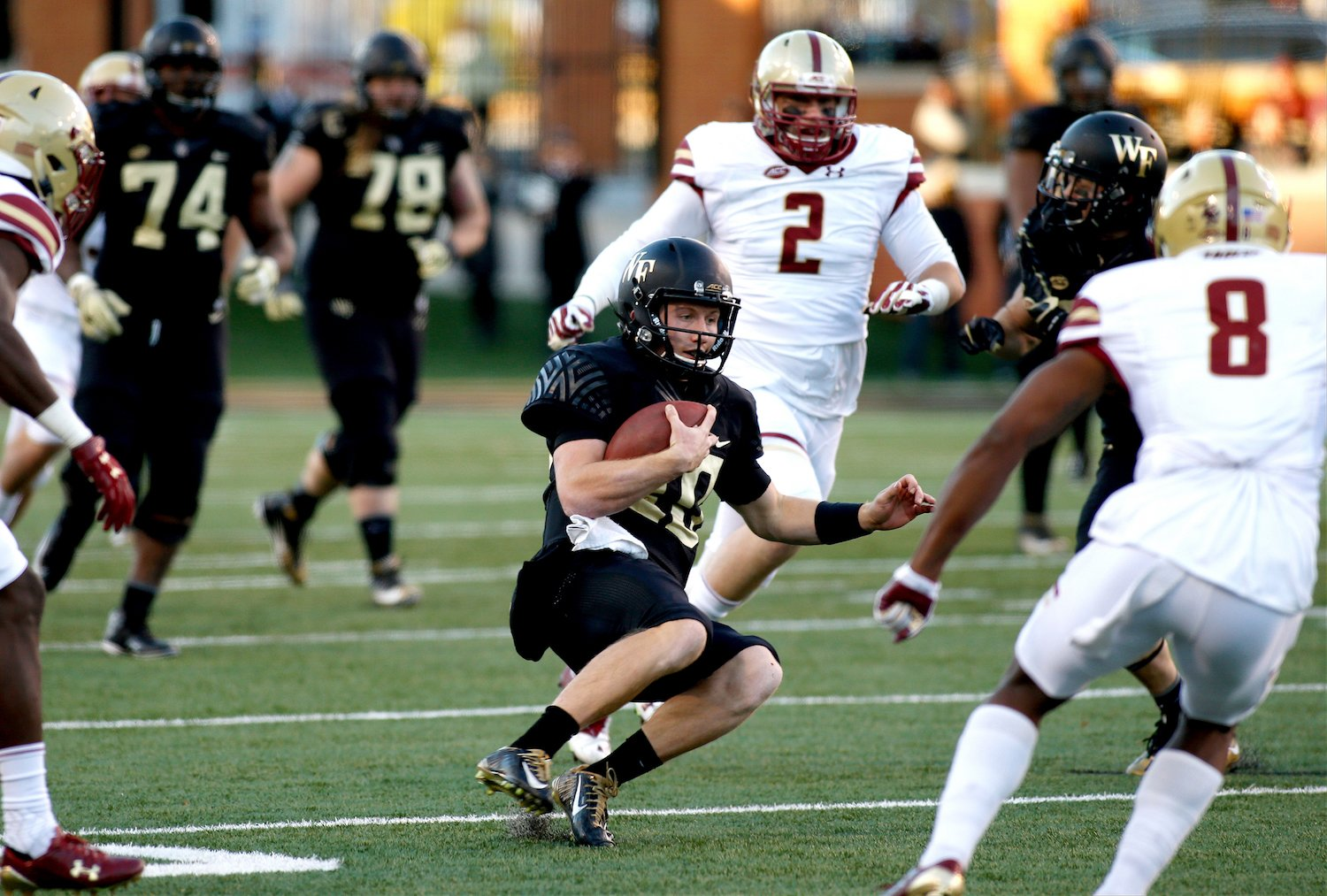 Wake Forest has lost three-straight games. (Getty)