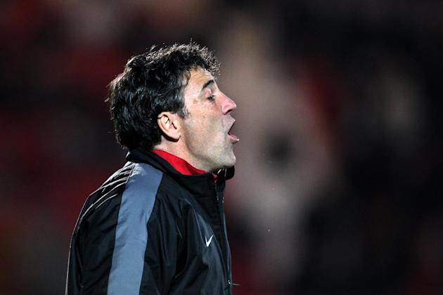 Dean Saunders felt his side were unlucky to go down to Crawley