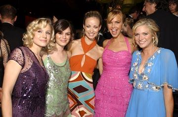 Kristen Bell, Rachel Bilson, Olivia Wilde, Arielle Kebbel and Brittany Snow InStyle/Warner Bros. Golden Globes Party The Palm Court at the Beverly Hilton - Beverly Hills, CA - 1/16/05