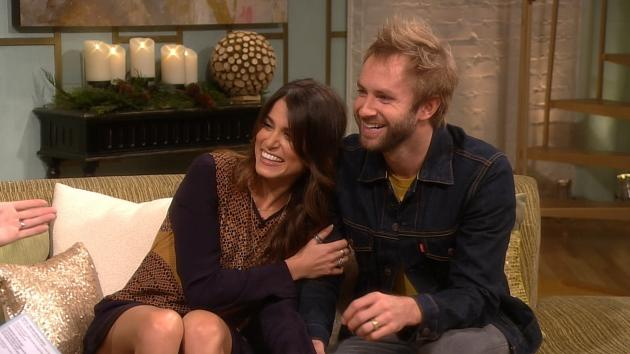 Nikki Reed and Paul McDonald stop by Access Hollywood Live on November 26, 2012 -- Access Hollywood