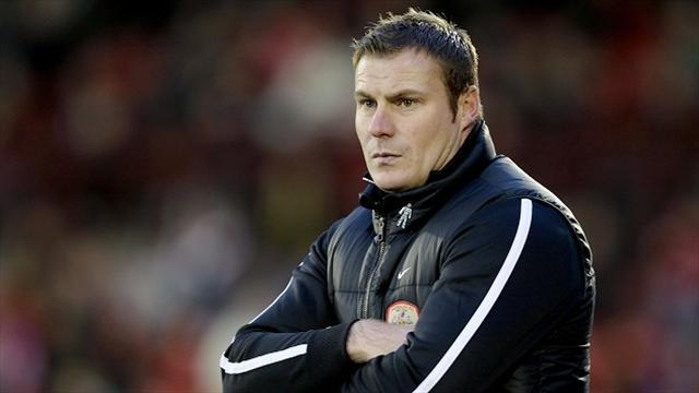 League Two - Flitcroft appointed Bury boss