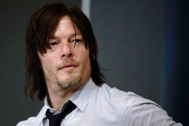 SINGAPORE - JANUARY 13: American actor and Walking Dead star, Norman Reedus attends the press conference at Fairmont Hotel on January 13, 2014 in Singapore. (Photo by Suhaimi Abdullah/Getty Images)