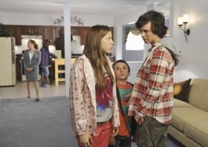 "Eden Shur and Charlie McDermott from ""The Middle."""