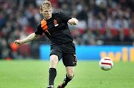 Kuyt frustrated at being Netherlands substitute