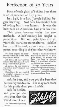 Advertising 101: How Claude Hopkins Sold a Staggering Amount of Beer image Claude Hopkins Schlitz