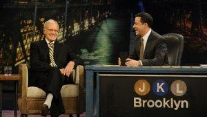 David Letterman Grants Jimmy Kimmel a Lifelong Dream (Video)